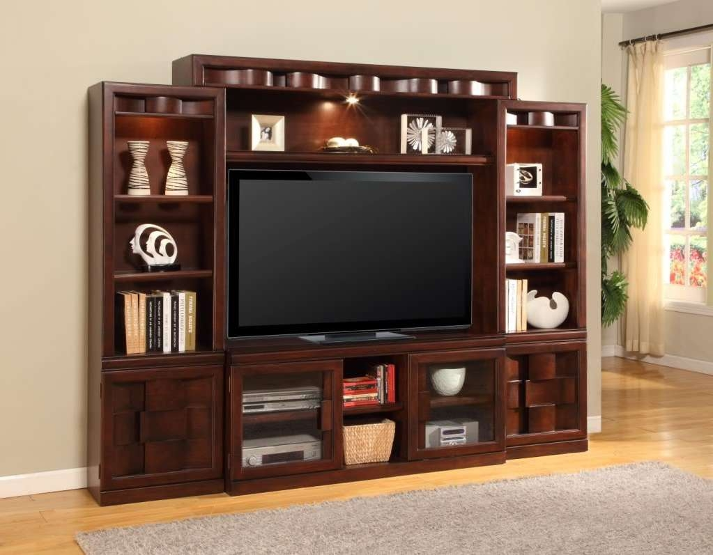 Osl101 Oslo Estate Wall Unit Large Tv Stand Entertainment Center In Tv Stands Wall Units (Gallery 2 of 15)