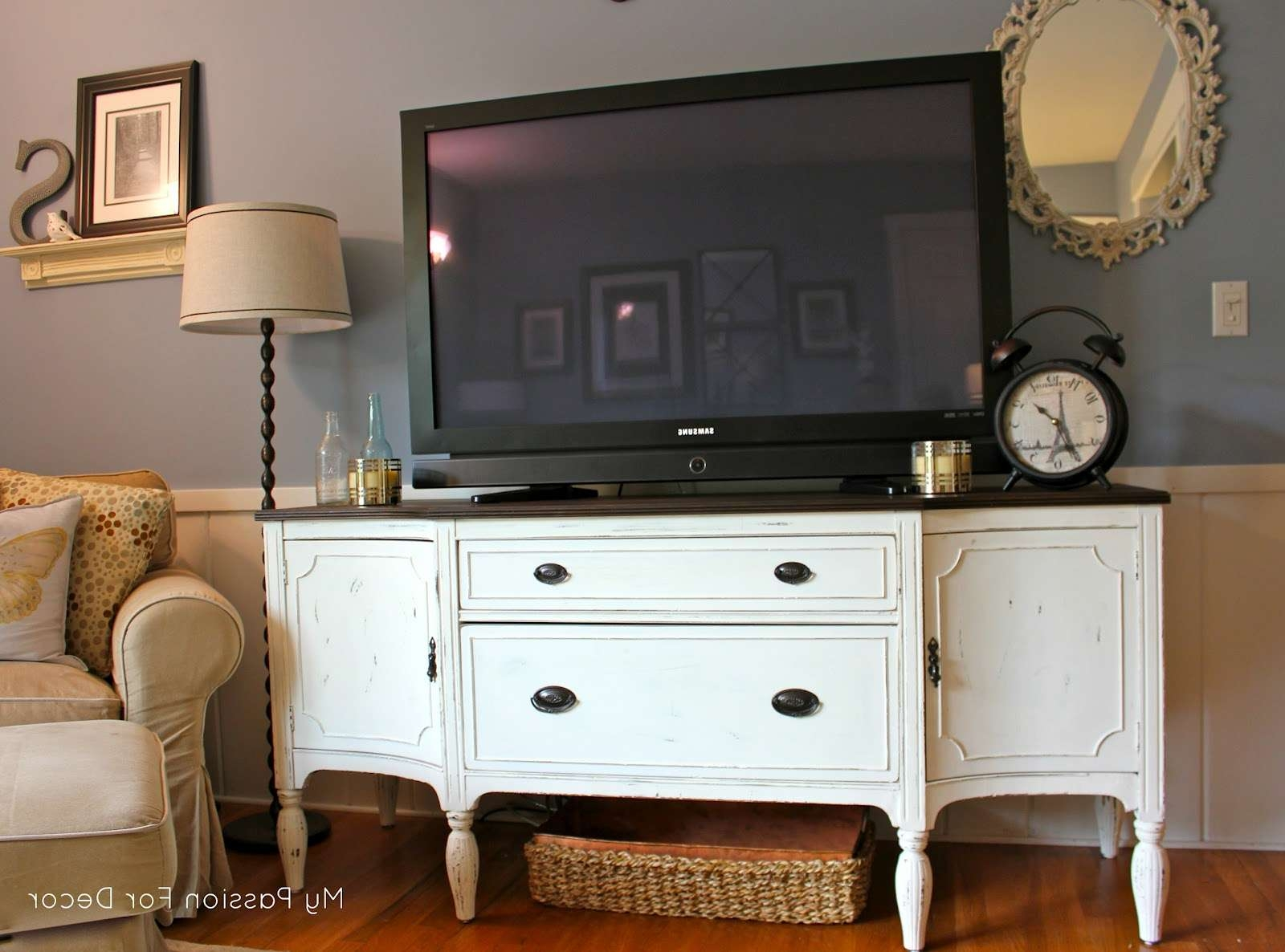Outstanding Buffet Tv Stand Inside Sideboard Tv Stands (Gallery 11 of 20)