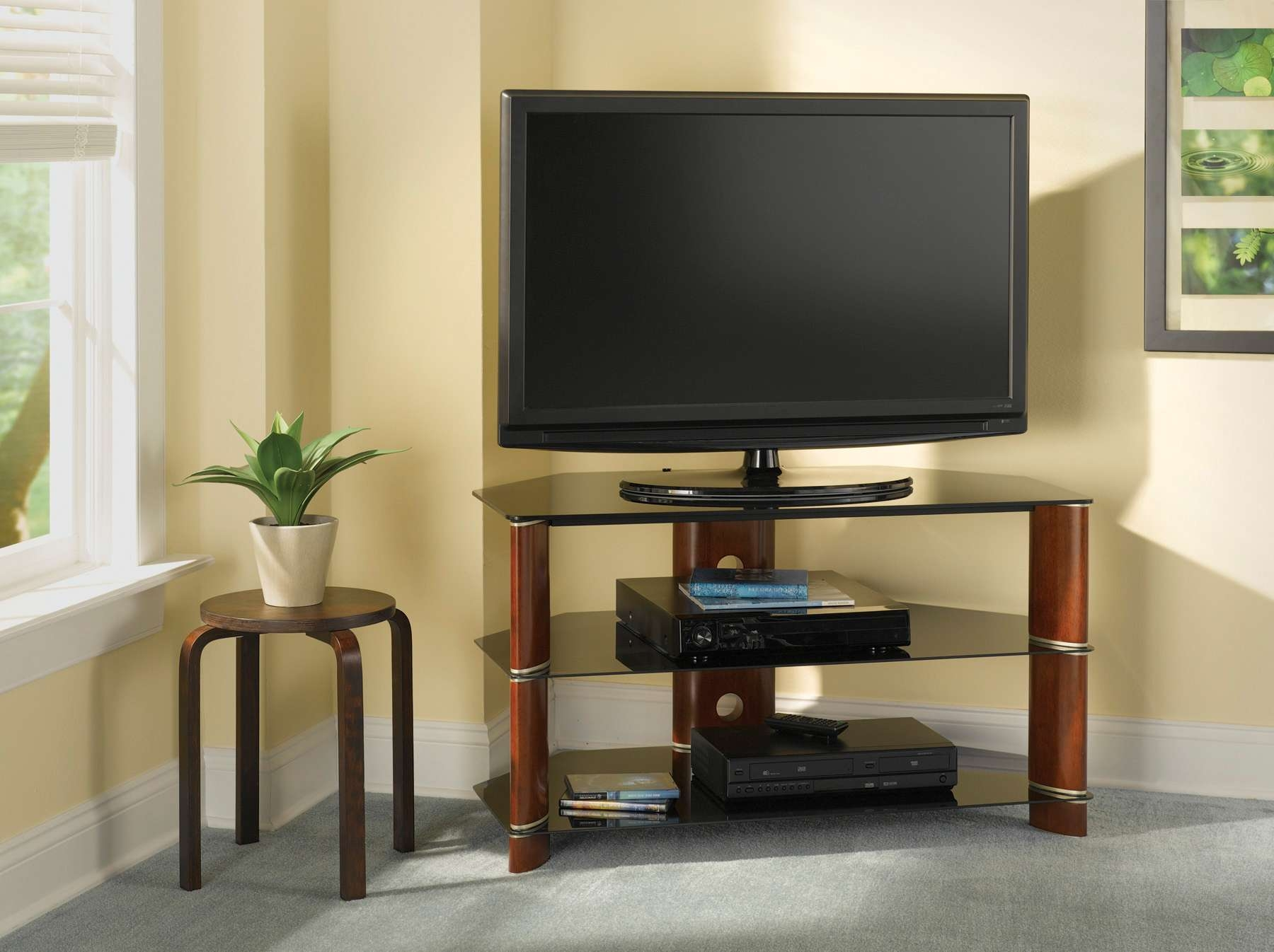 Outstanding Modern Corner Tv Stand And Contemporary Trends Images With Regard To Contemporary Corner Tv Stands (View 9 of 15)