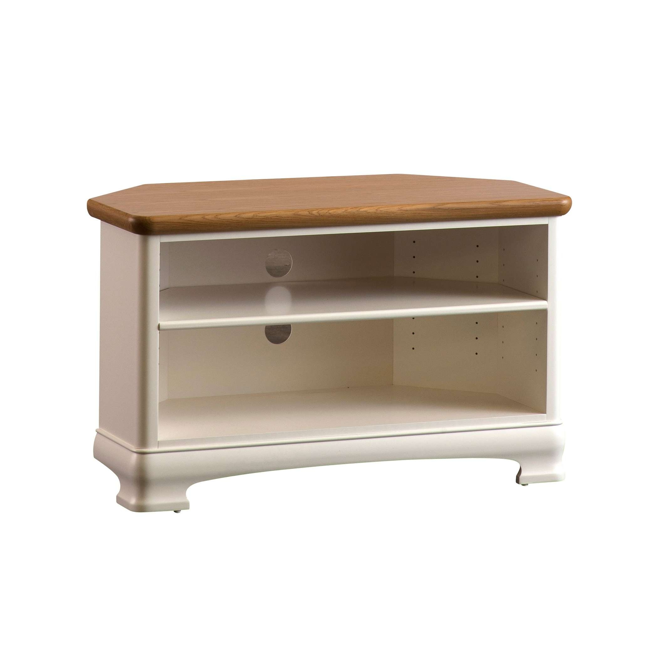 Painted Corner Tv Stand | Gola Furniture Uk Intended For Painted Corner Tv Cabinets (View 2 of 20)