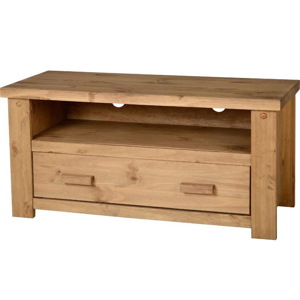 Paulo Tv Unit Pine At Wilko For Pine Tv Stands (View 13 of 20)