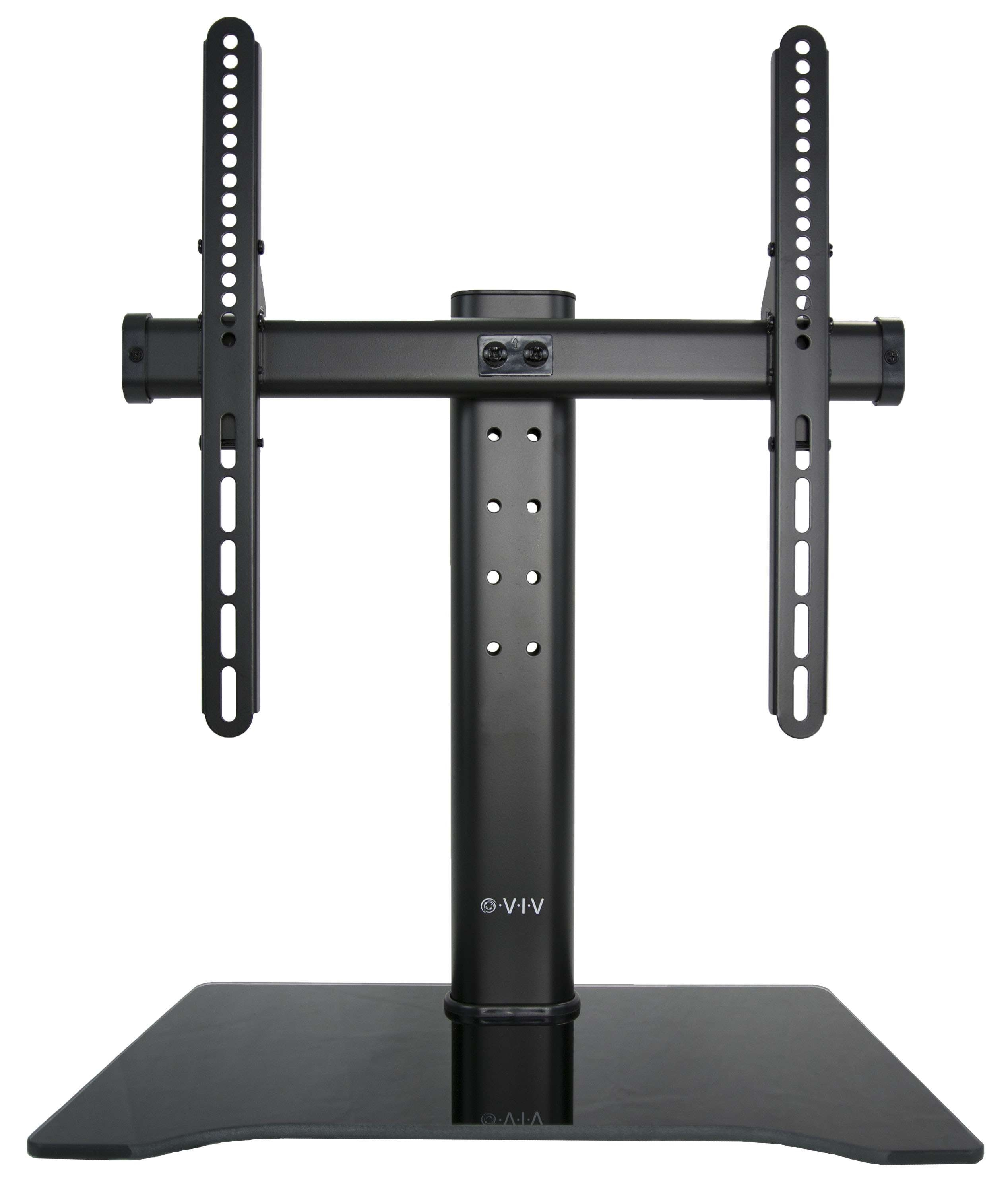Pedestal Tv Bases Throughout Universal Flat Screen Tv Stands (View 6 of 20)