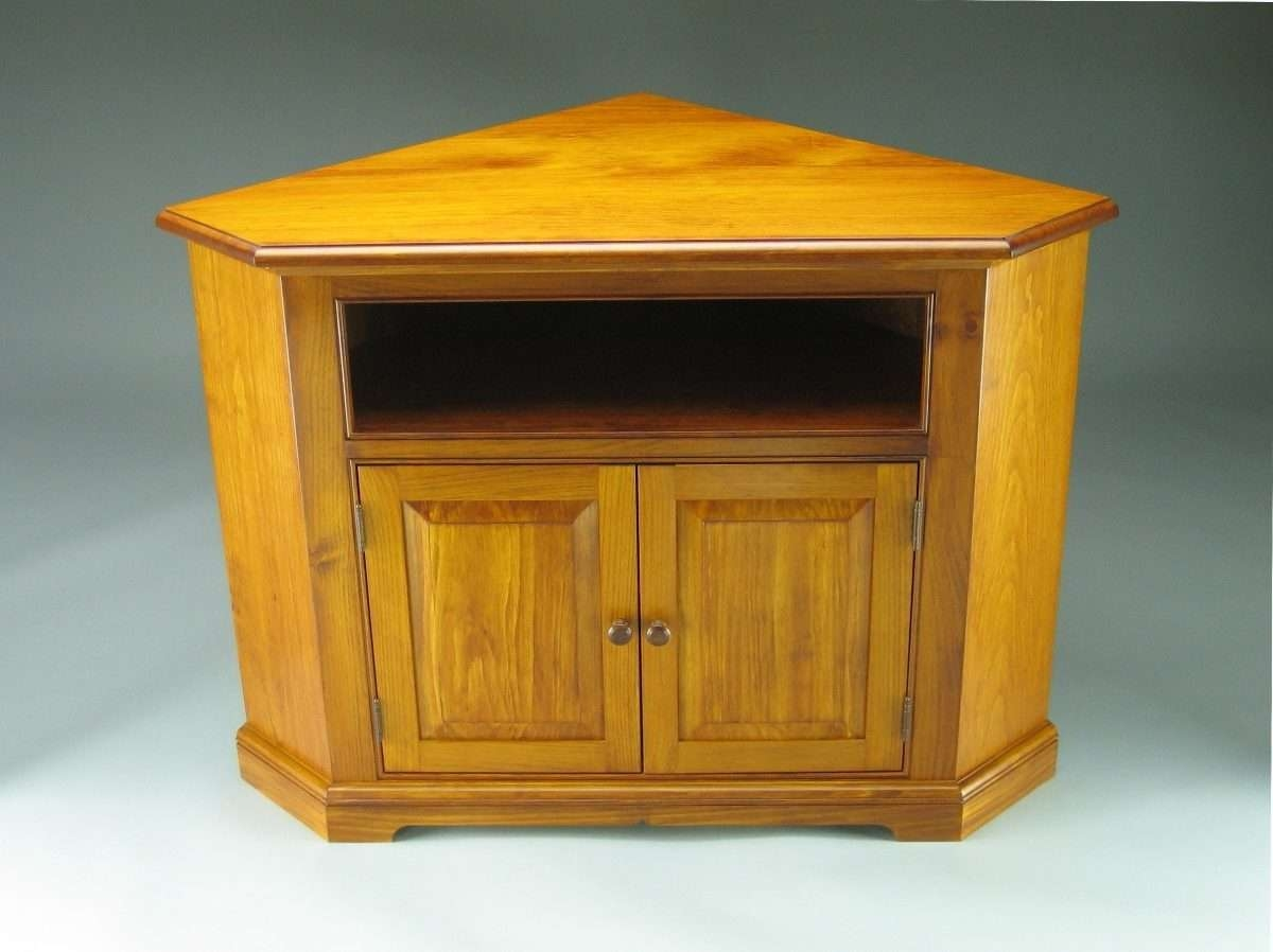 Pine Corner Tv Stand – Finewoodworking Throughout Pine Corner Tv Stands (View 4 of 15)