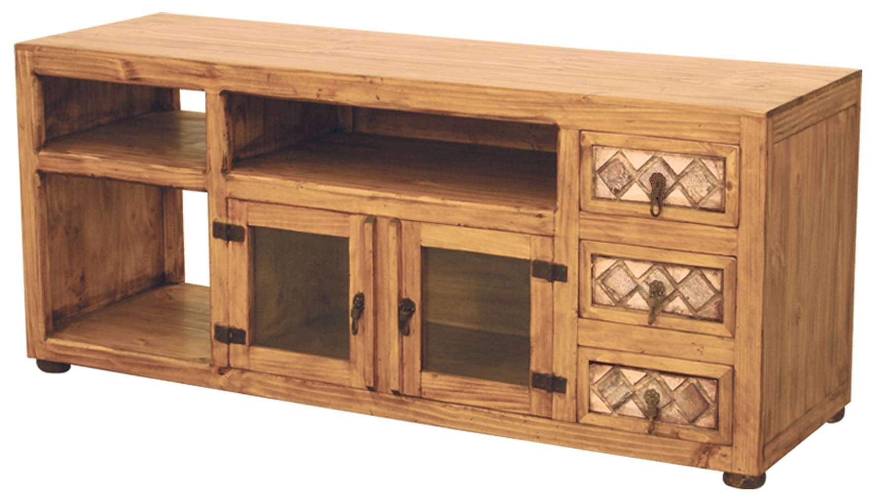 Pine Furniture Tv Stand Decor | Gyleshomes Regarding Pine Wood Tv Stands (View 9 of 15)