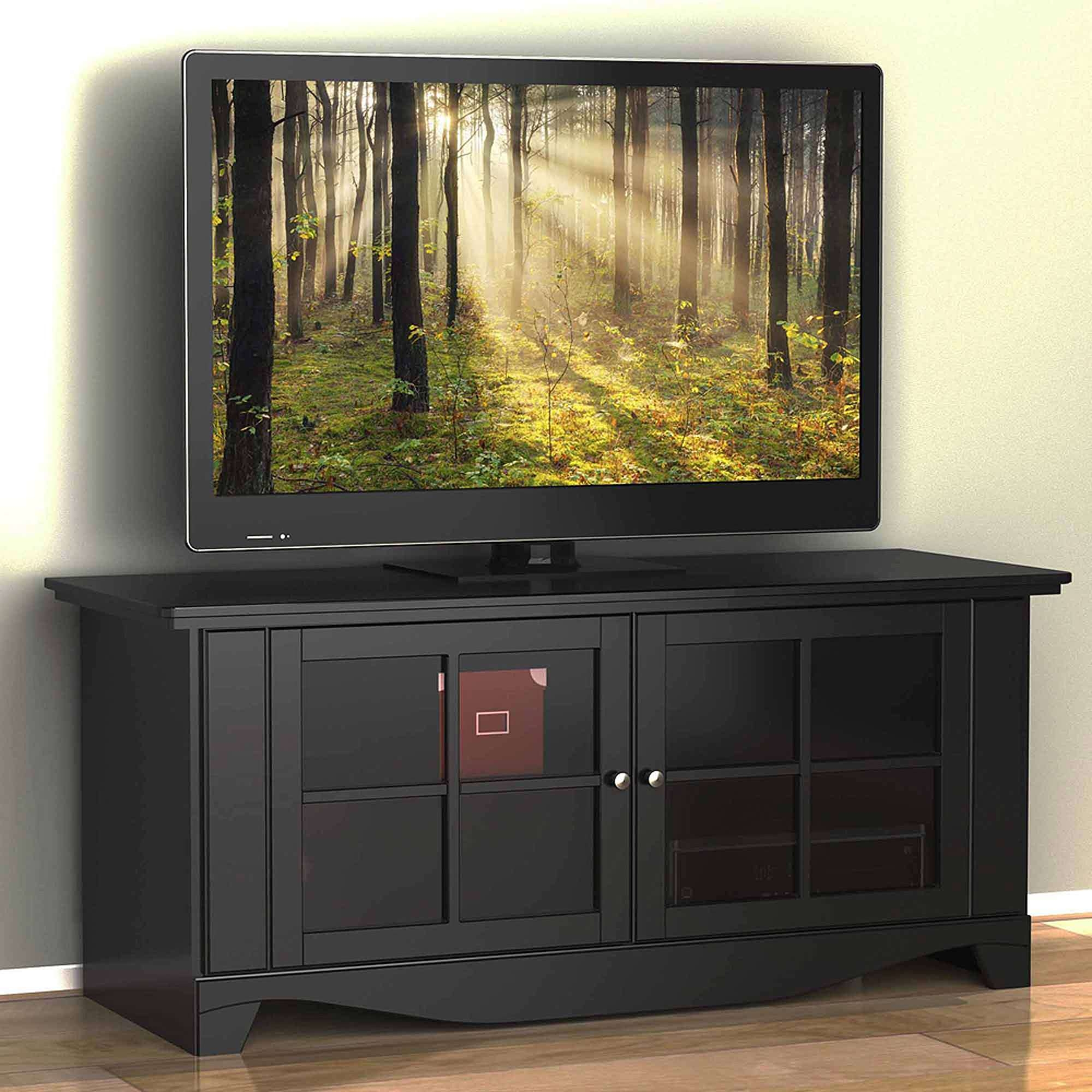 "Pinnacle Tv Stand, For Tvs Up To 60"" – Walmart Within Nexera Tv Stands (View 12 of 15)"