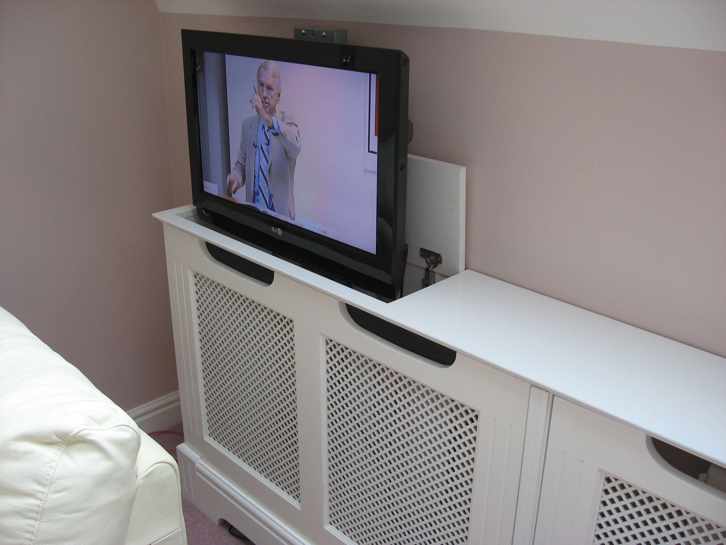 Pop Up Tv Cabinet Flat Screen From Baker Thomas Pheasant Regarding Pop Up Tv Stands (View 14 of 20)