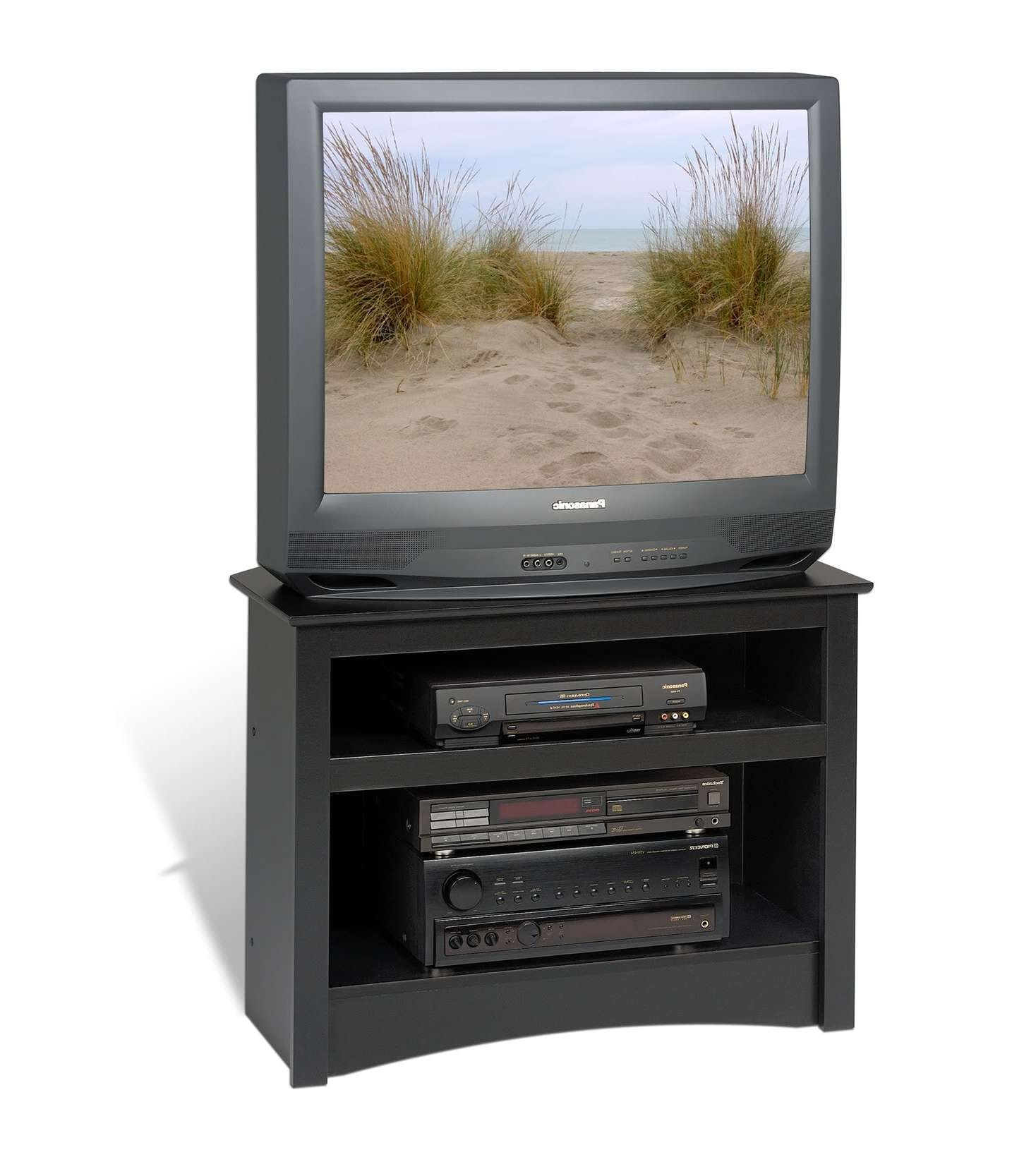Prepac Sonoma Black Corner 32 Inch Tv Stand – Beyond Stores In 32 Inch Tv Stands (View 9 of 15)