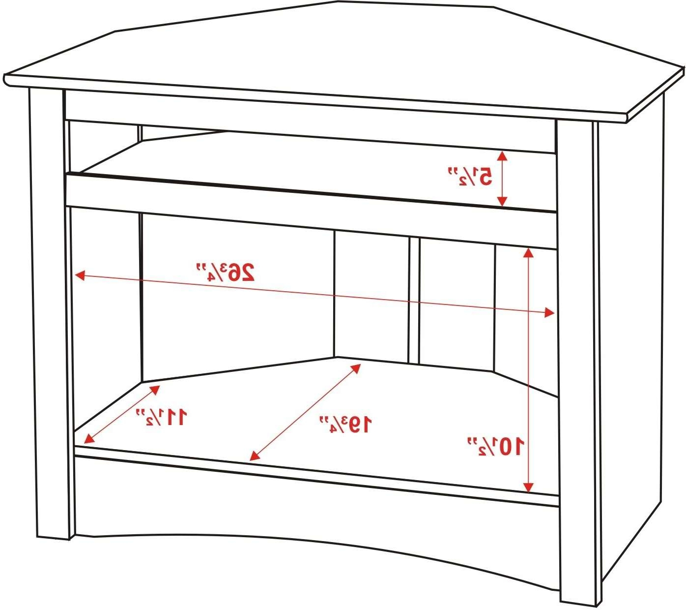 Prepac Sonoma Black Corner 32 Inch Tv Stand – Beyond Stores Pertaining To 32 Inch Corner Tv Stands (View 15 of 15)