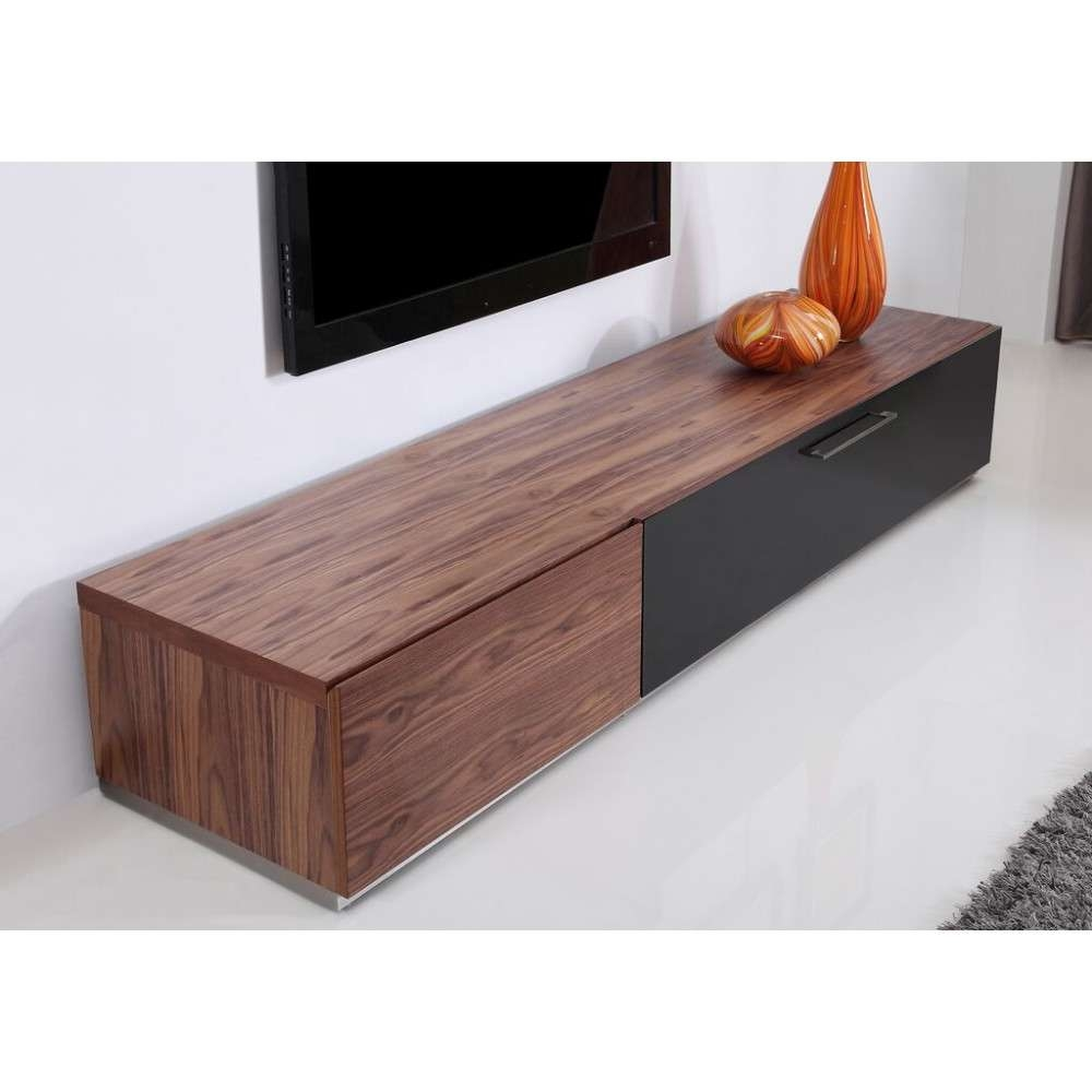 Producer Tv Stand | Light Walnut, B Modern – Modern Manhattan With Walnut Tv Stands (View 11 of 15)
