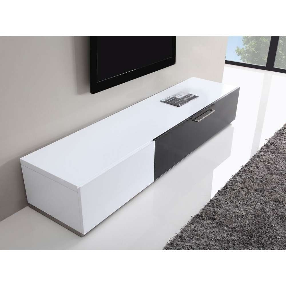 Producer Tv Stand | White High Gloss, B Modern – Modern Manhattan Inside High Gloss White Tv Stands (View 11 of 15)