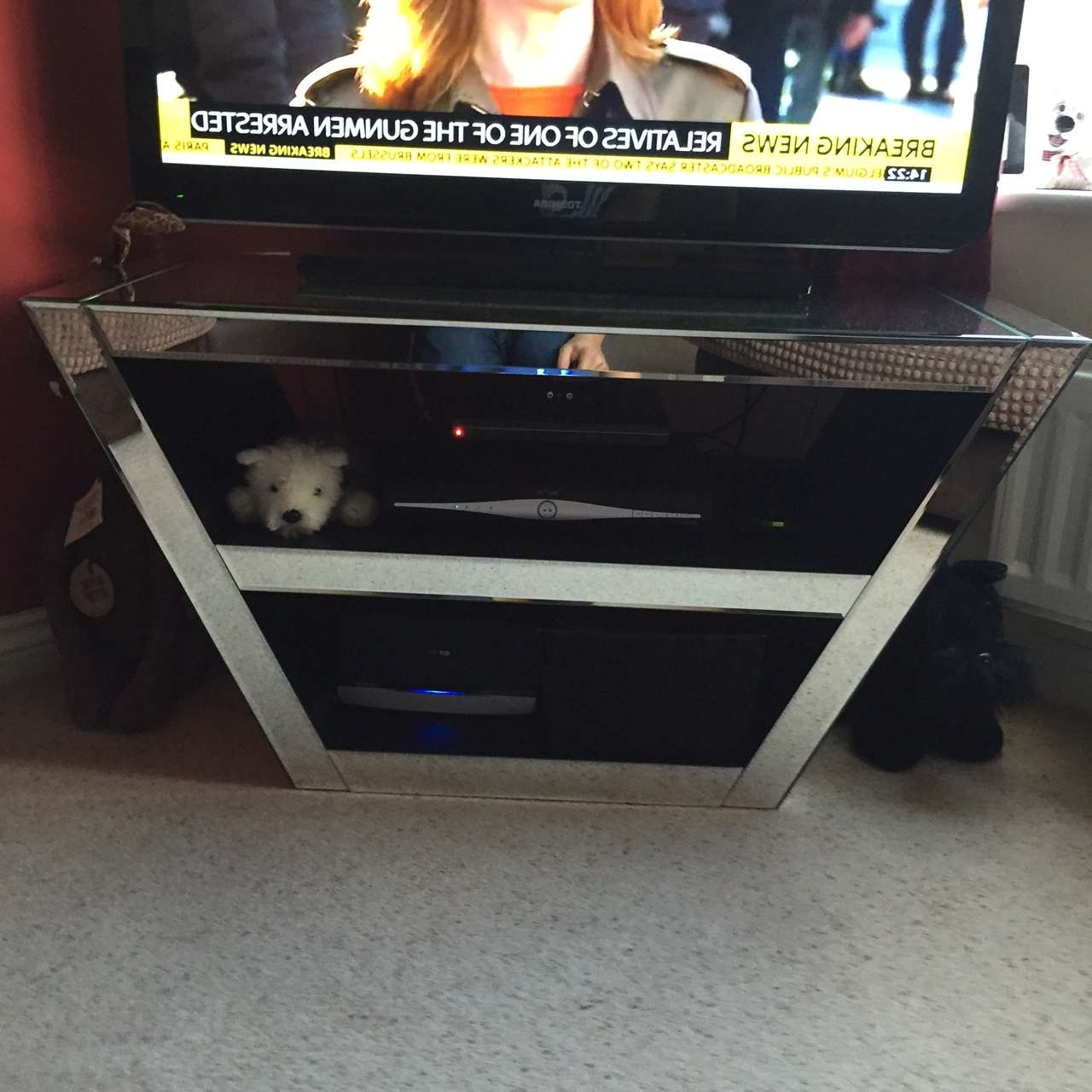Prs Group Uk | Venetian Mirror Tv Cabinet With Mirror Tv Cabinets (View 14 of 20)