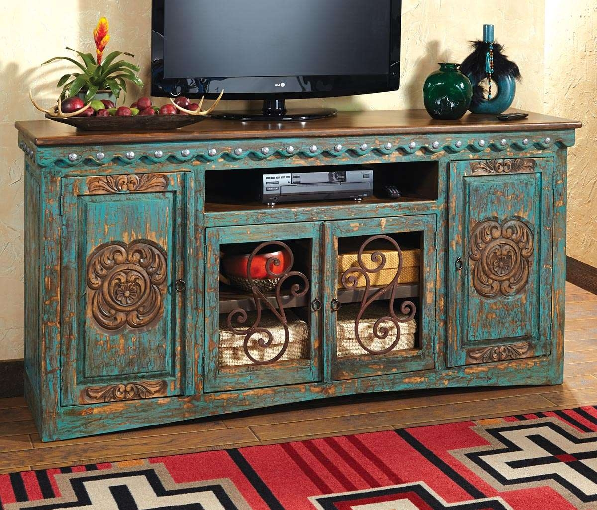 Reclaimed Wood Tv Stand : Ideal Rustic Furniture Tv Stand – Ingrid Inside Rustic Furniture Tv Stands (View 7 of 20)