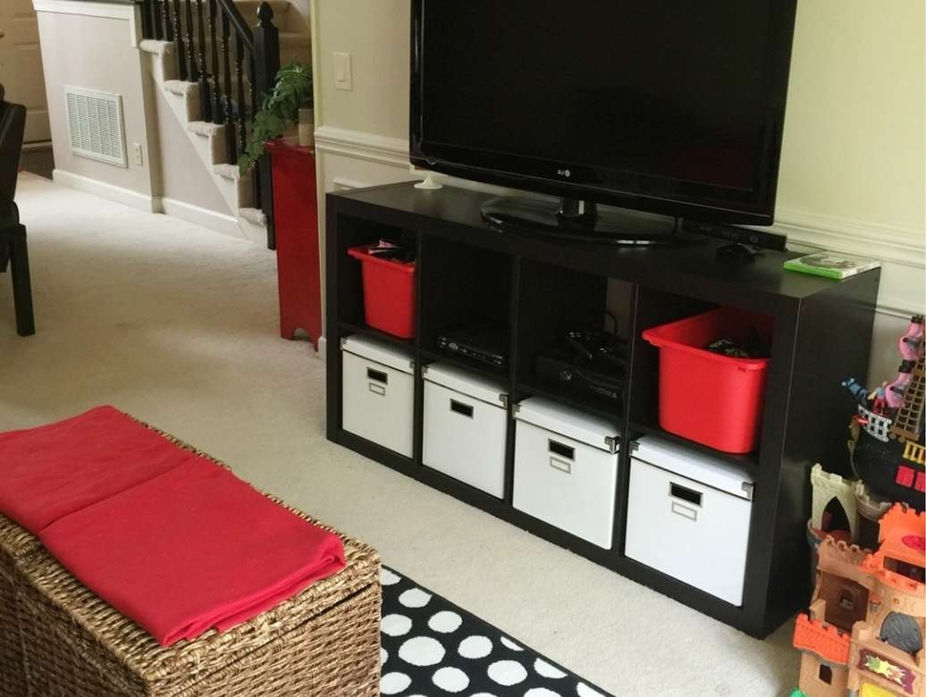 Riveting Tall Black Gloss Tv Cabinet Tags : Tall Black Tv Cabinets Regarding Red Tv Cabinets (View 20 of 20)