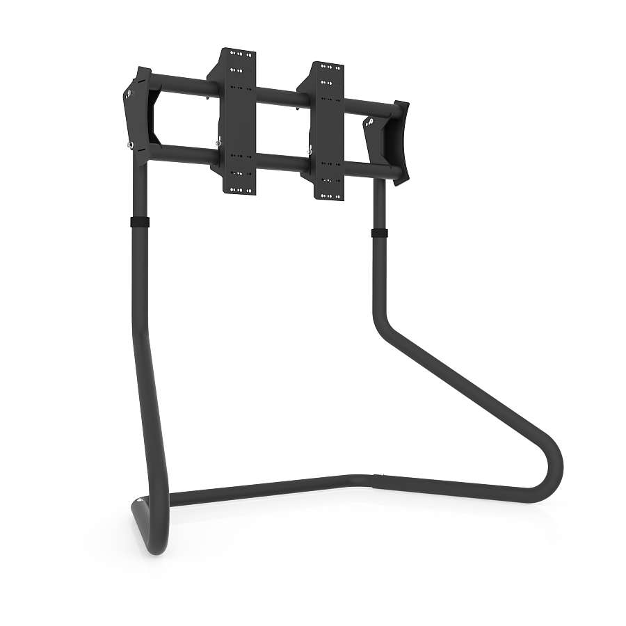 Rs Stand S3 Single Tv Stand Black – Rseat Gaming Seats, Cockpits In Single Tv Stands (View 4 of 15)