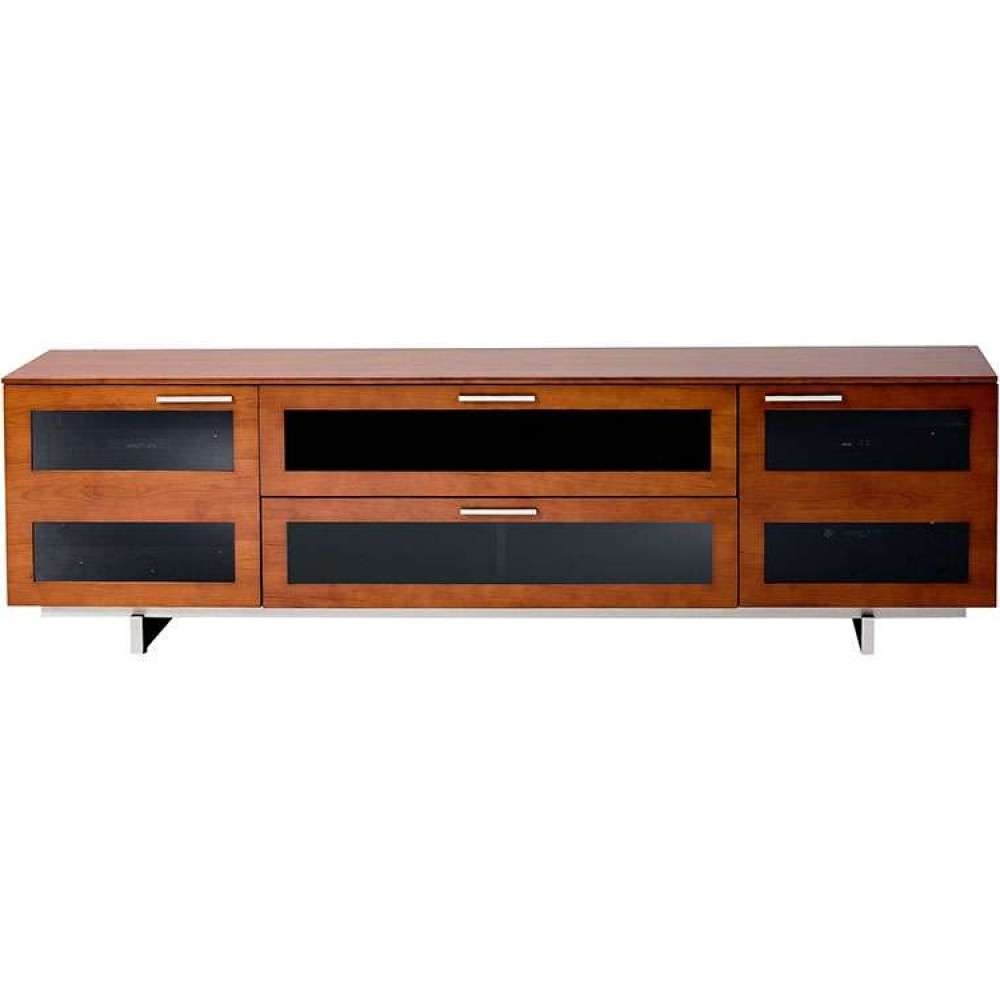 Rustic Light Retro Quality Low Flat Panel Storage Table Throughout Light Cherry Tv Stands (View 2 of 15)