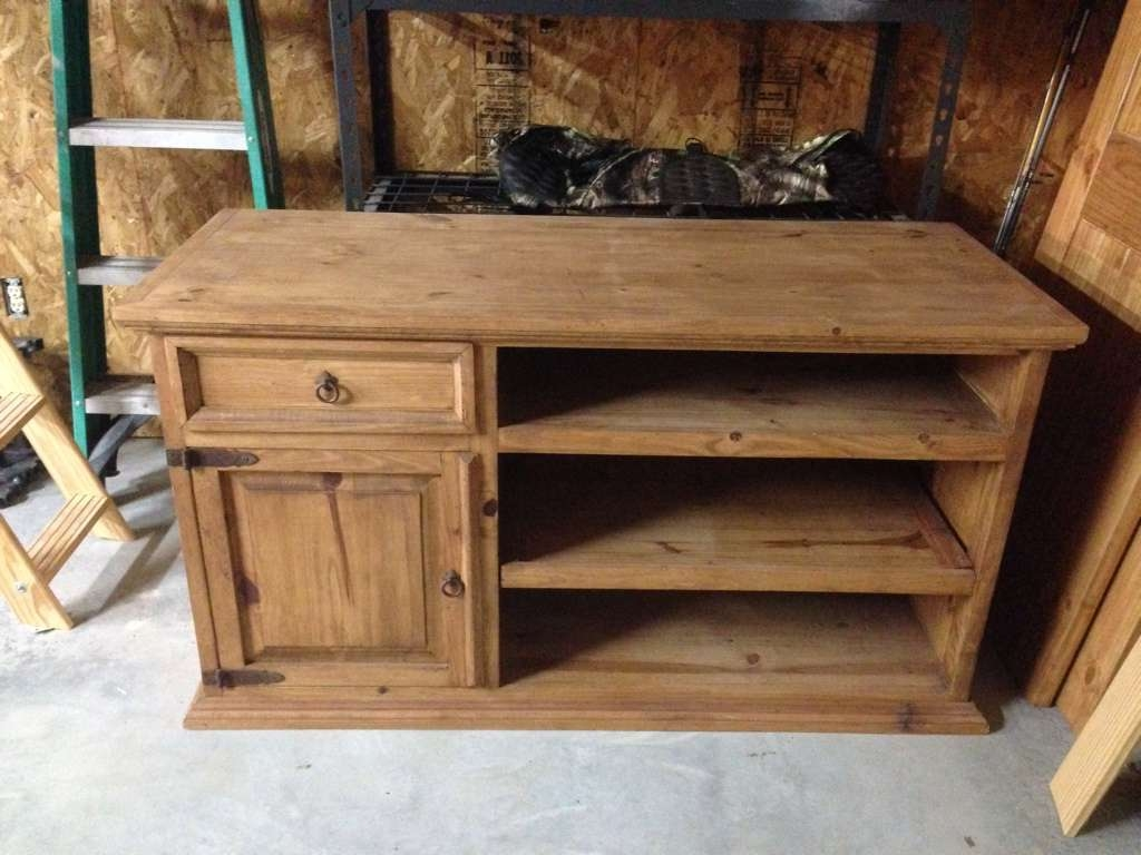 Rustic Tv Stand And Arch Top Closet Doors | Non Hunting Regarding Rustic Tv Stands For Sale (View 9 of 20)
