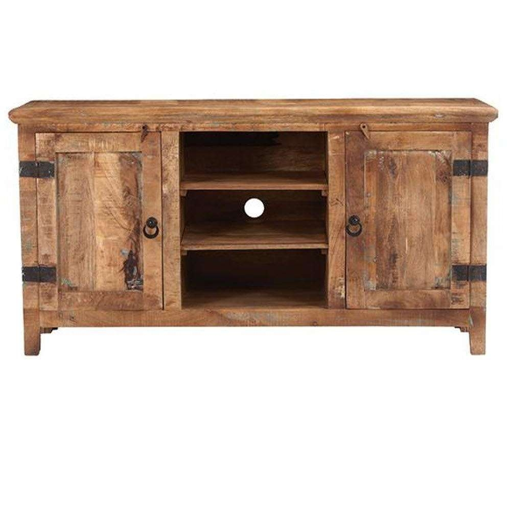 Rustic – Tv Stands – Living Room Furniture – The Home Depot For Rustic Looking Tv Stands (View 6 of 20)