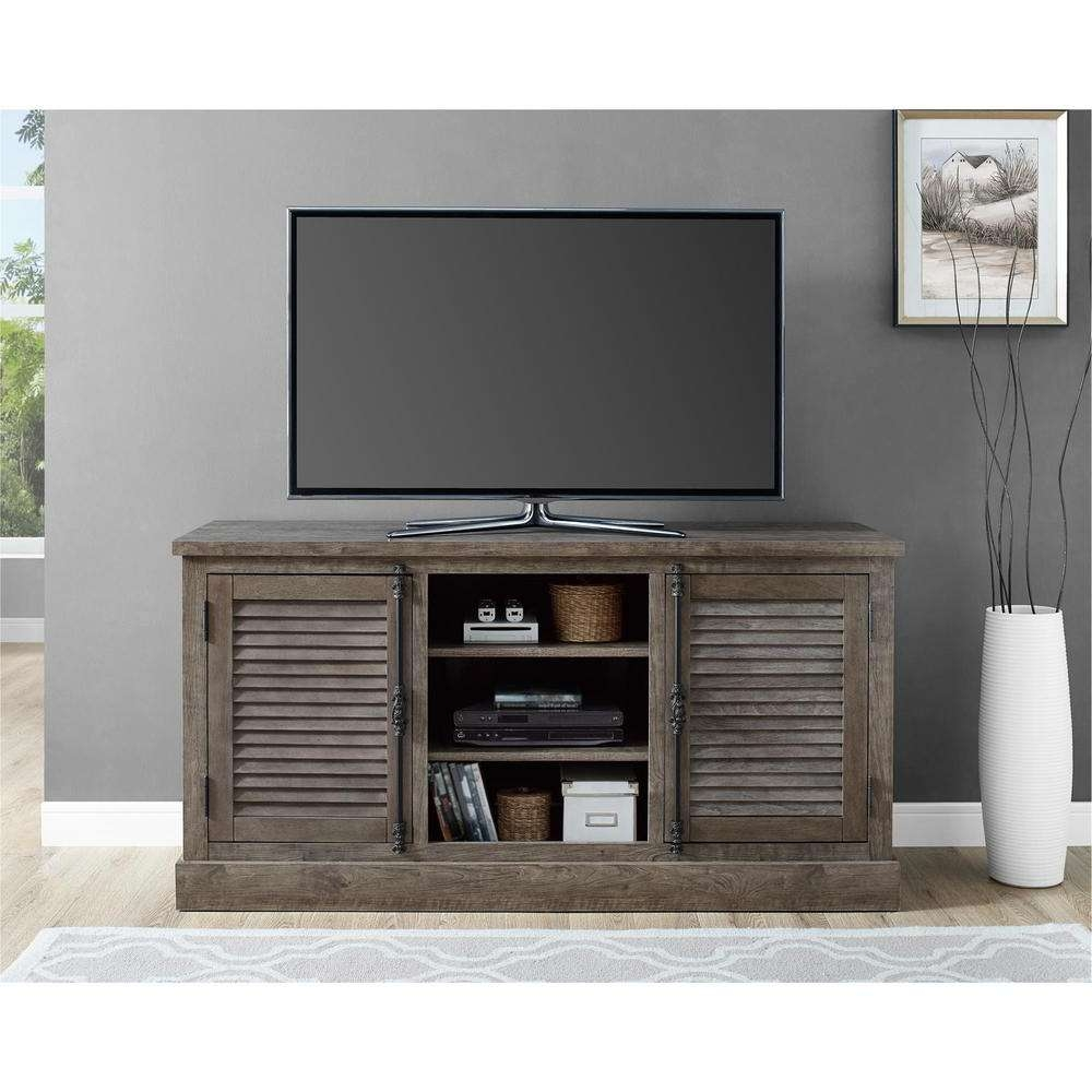 Rustic – Tv Stands – Living Room Furniture – The Home Depot Within Rustic Tv Stands (View 10 of 15)