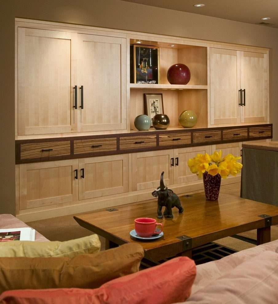 San Francisco Concealed Tv Cabinet Family Room Asian With Wood Throughout Asian Tv Cabinets (View 17 of 20)