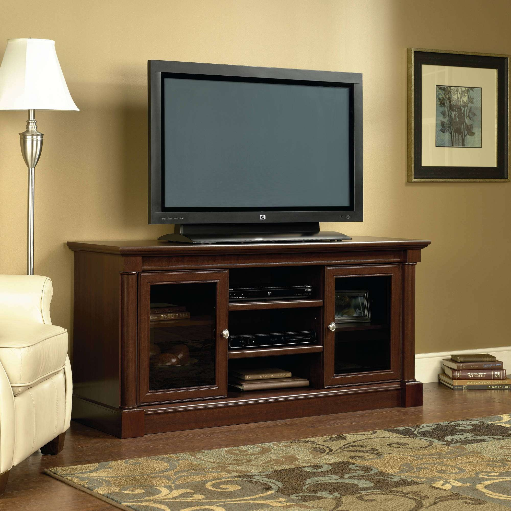 Sauder Tv Stands With Regard To Light Cherry Tv Stands (View 10 of 15)