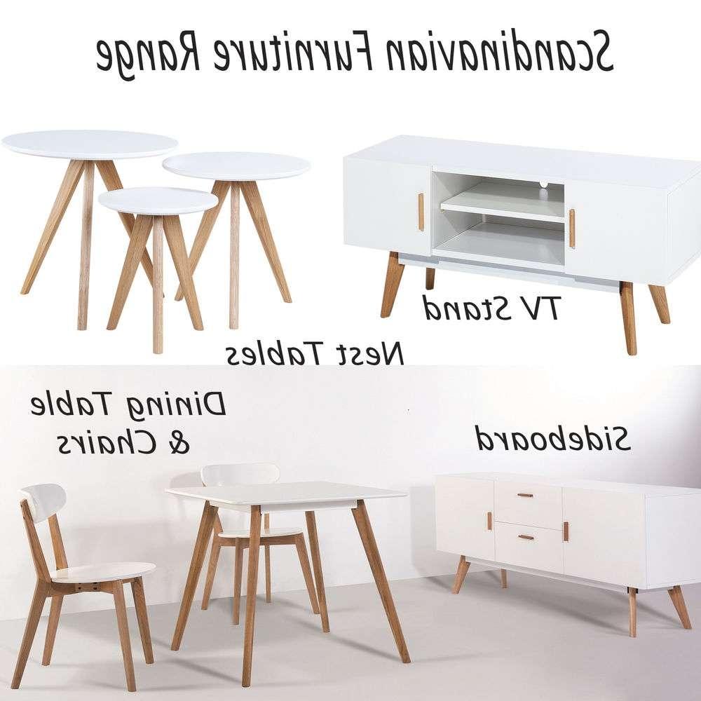 Scandinavian Retro Range Furniture Tv Stand Nest Table Side Dining In Scandinavian Tv Stands (View 15 of 15)