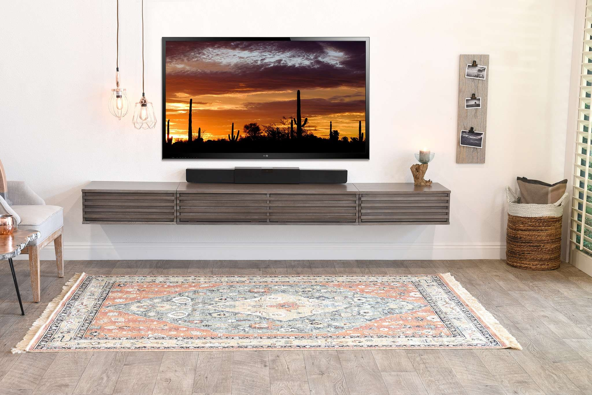 Shelves : Marvelous Ideas Floating Wall Mount Tv Stand Lotus And In Modern Wall Mount Tv Stands (View 6 of 20)