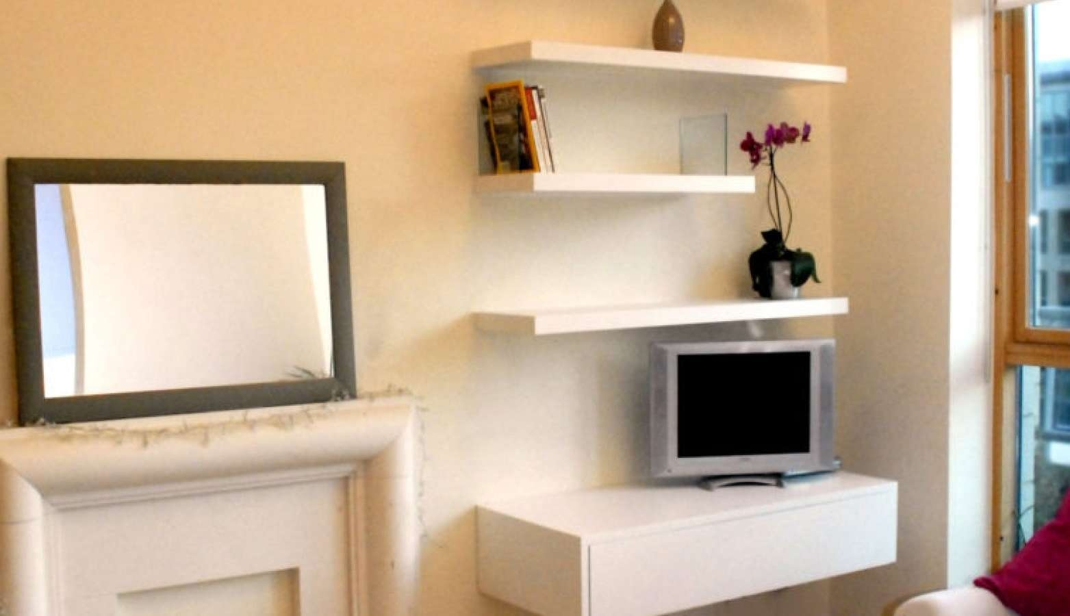 Shelving : 90 Single Shelf Tv Stand Awesome Awesome Single Shelf Pertaining To Single Shelf Tv Stands (View 10 of 15)