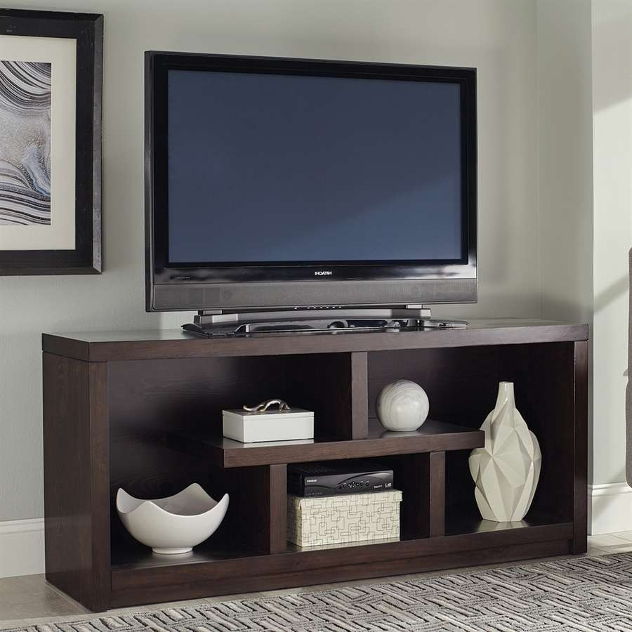 Shop Television Stands At Lowes Inside Open Shelf Tv Stands (View 14 of 15)