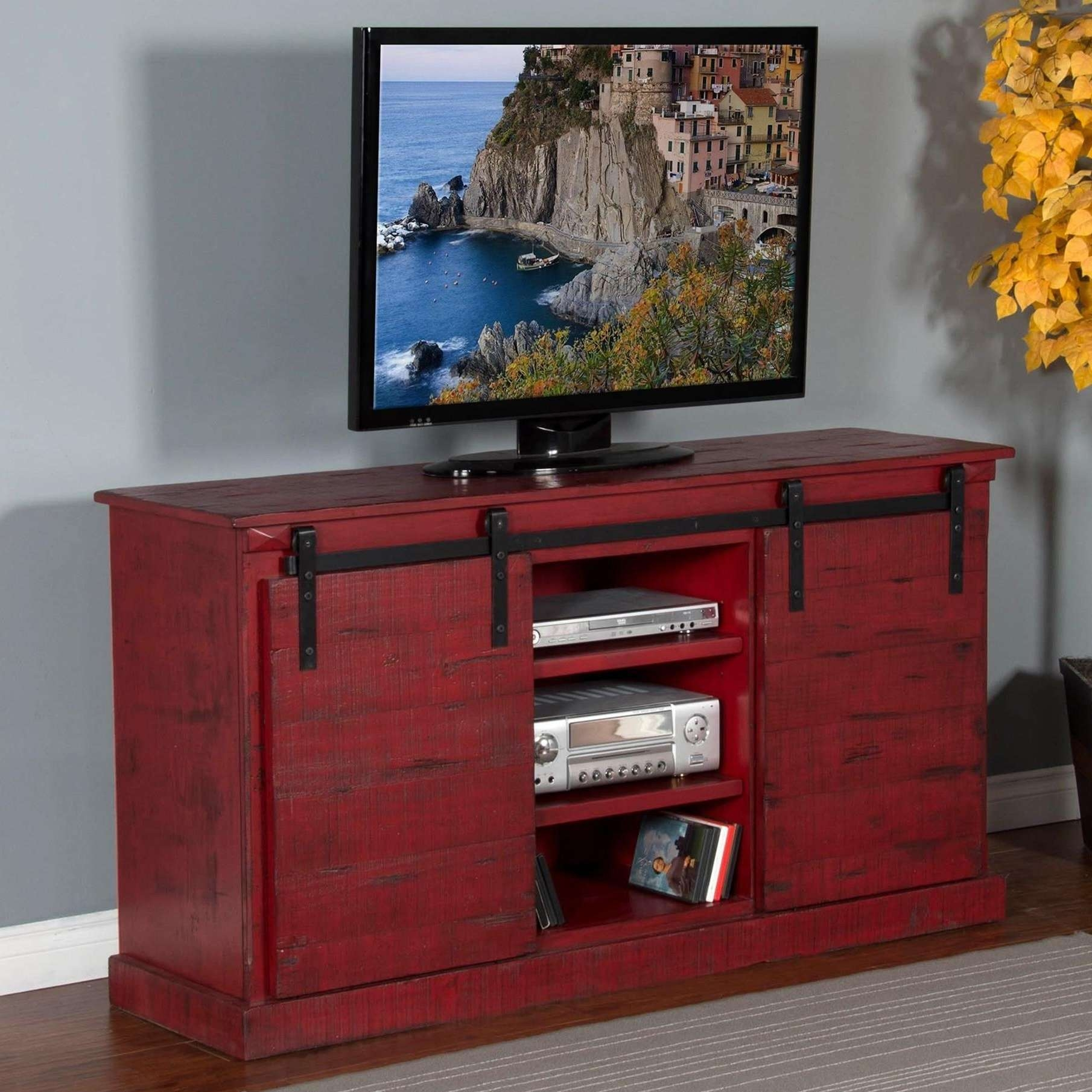 Shop Tv Stands | Wolf And Gardiner Wolf Furniture Intended For Rustic Red Tv Stands (View 9 of 15)