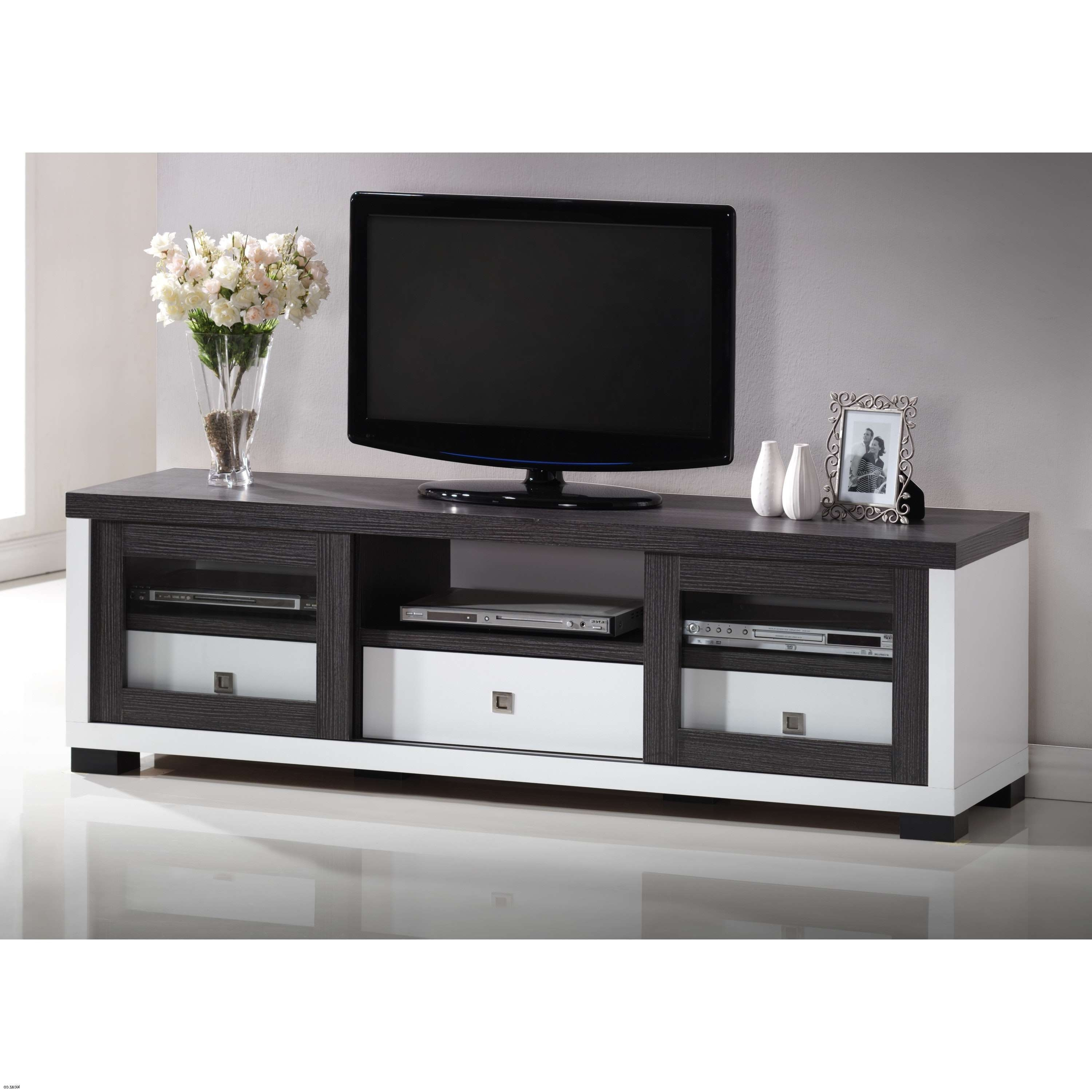 Short Tv Stands Home Design White Stand Entertainment Center | Kicaz Intended For Long White Tv Stands (View 13 of 15)