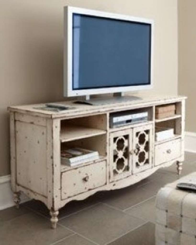Sideboard Rustic White Tv Stand Foter With Sideboard As Tv Stand Within Rustic White Tv Stands (View 11 of 15)