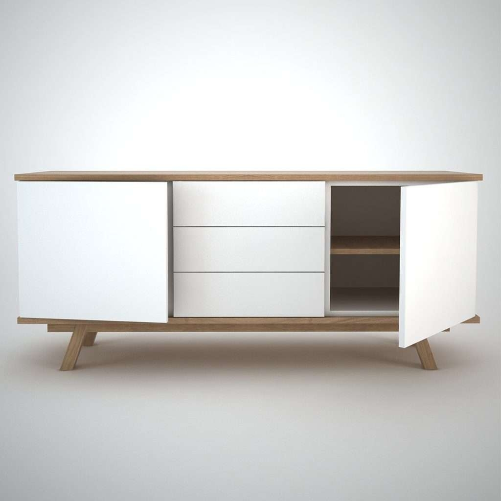 Sideboards Marvellous White Furniture Pictures On Amazing Long With Long Low Tv Cabinets (View 13 of 20)