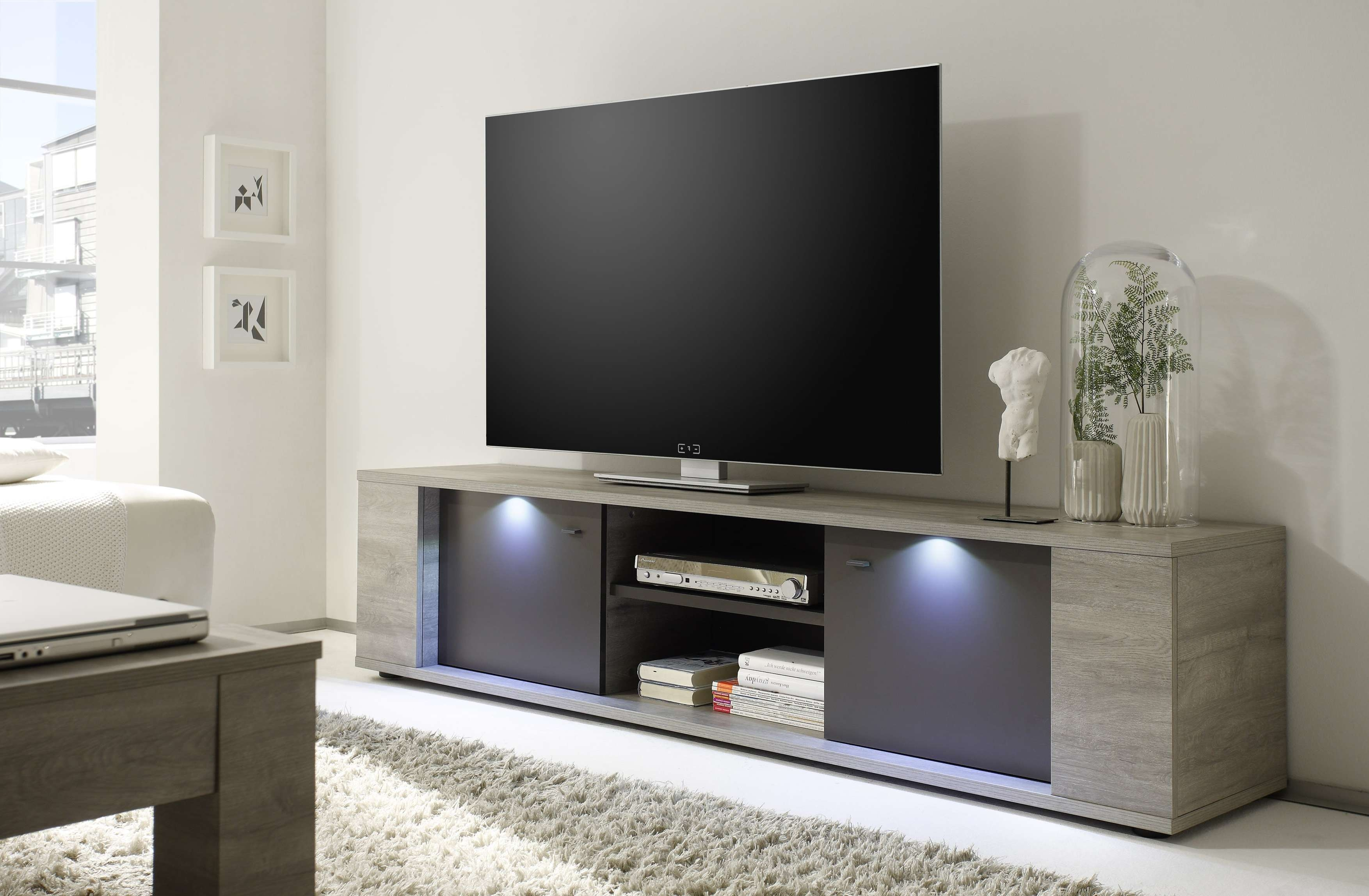 Sidney Big Tv Stand Buy Online At Best Price – Sohomod Within Big Tv Stands Furniture (View 12 of 15)