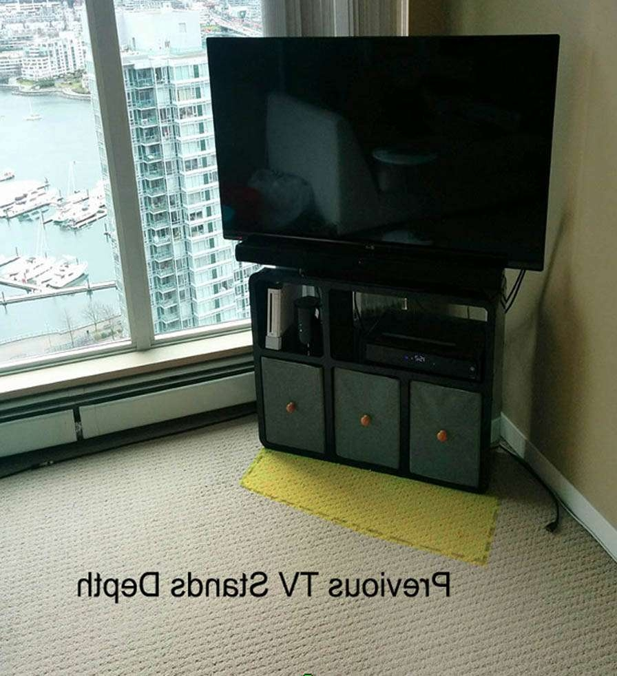 Slim Modular Tv Stand That Fits Anywhere | Expand Furniture Pertaining To Slimline Tv Stands (View 9 of 15)