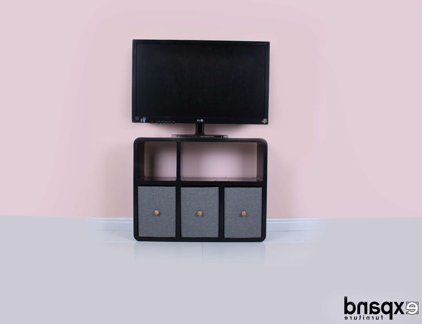 Slim Tv Stand 6 – Made For Modern Thin Tvs |Expand For Slimline Tv Cabinets (View 9 of 20)