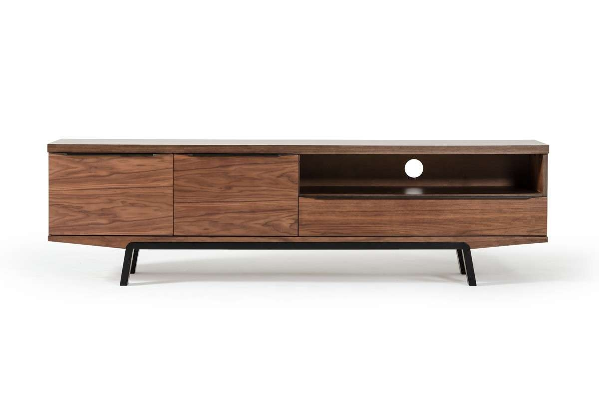 Sloan Mid Century Walnut Tv Stand For Walnut Tv Stands (View 12 of 15)