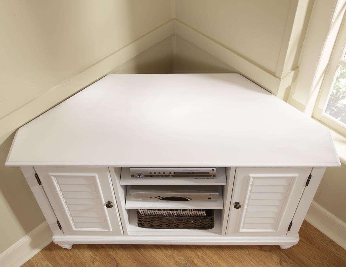 Small Corner Tv Cabinet White – Imanisr Within White Corner Tv Cabinets (View 16 of 20)