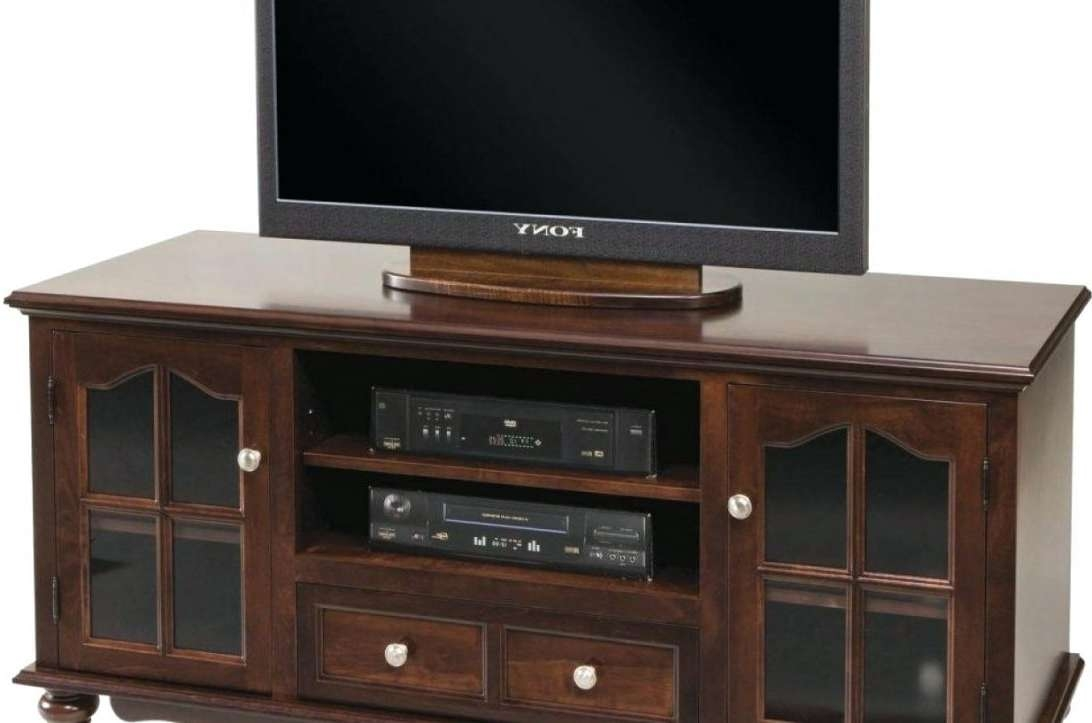 Solid Oak Tv Stand Corner Cabinet Ideas Modern White With Media Intended For Cherry Wood Tv Stands (View 14 of 15)