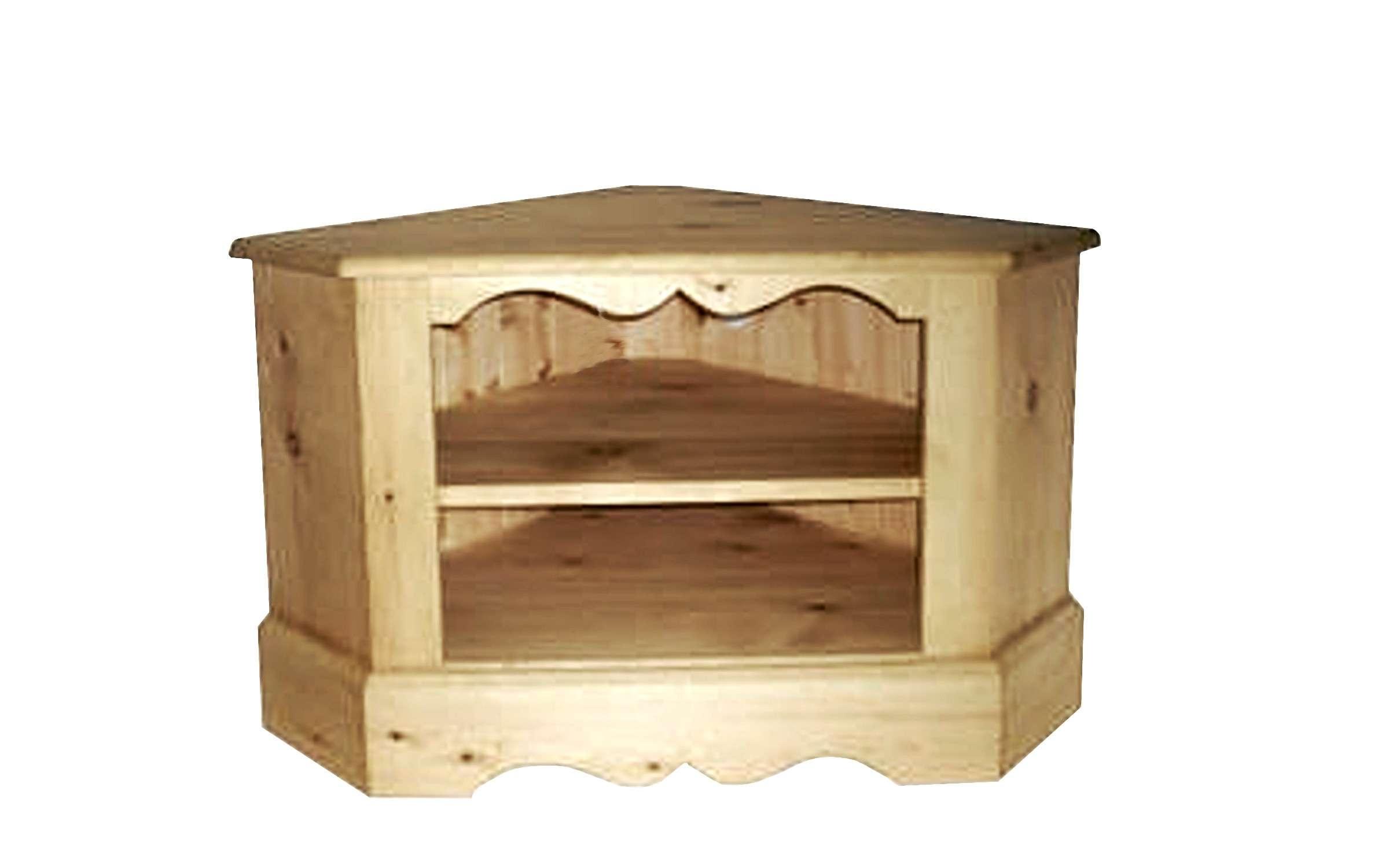 Solid Pine Corner Tv Cabinet • Corner Cabinets Inside Solid Pine Tv Stands (View 5 of 15)