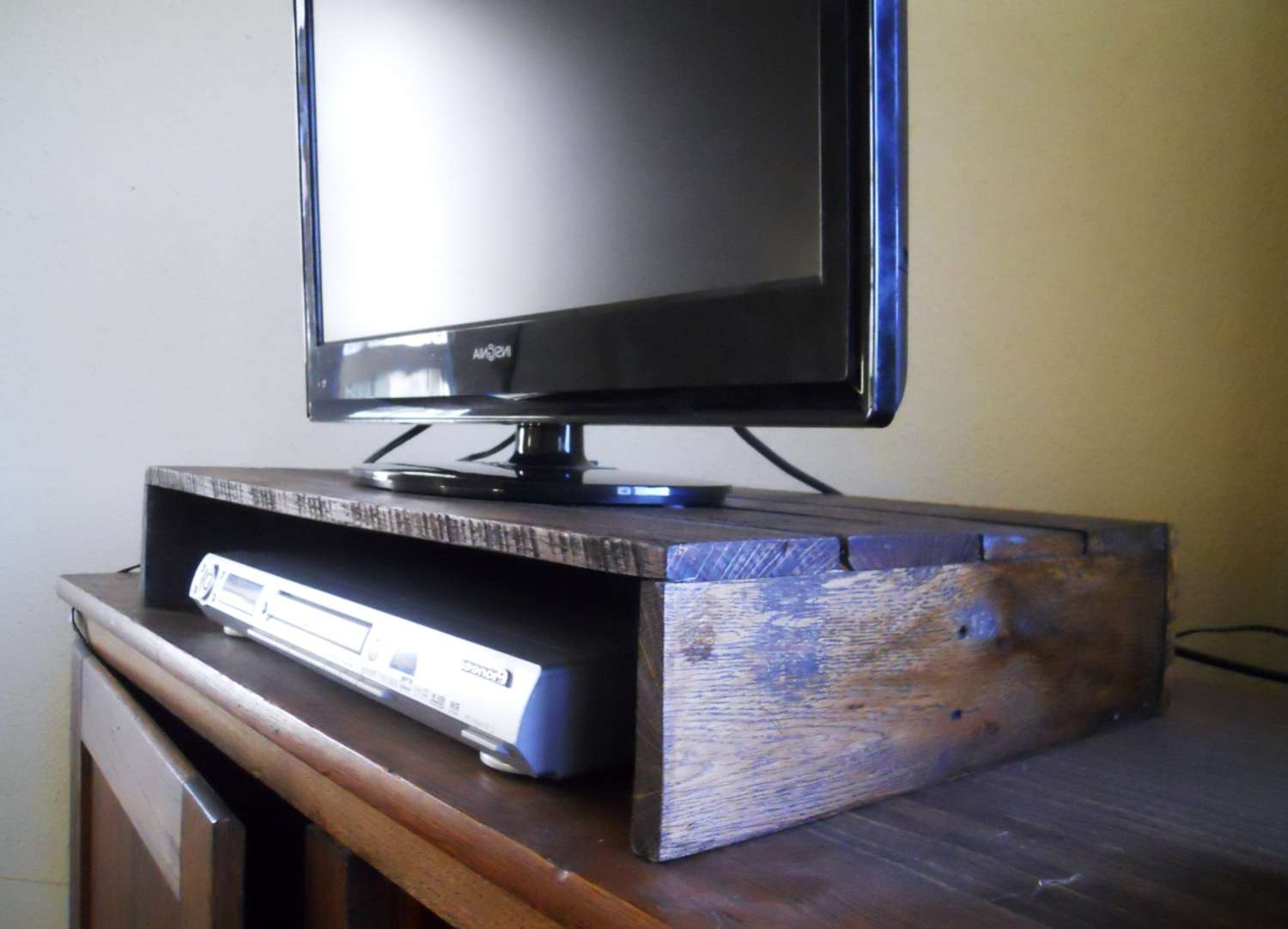 Solid Wood Entertainment Center Uncategorized Il Fullxfull Pertaining To Tv Stands Over Cable Box (View 5 of 15)