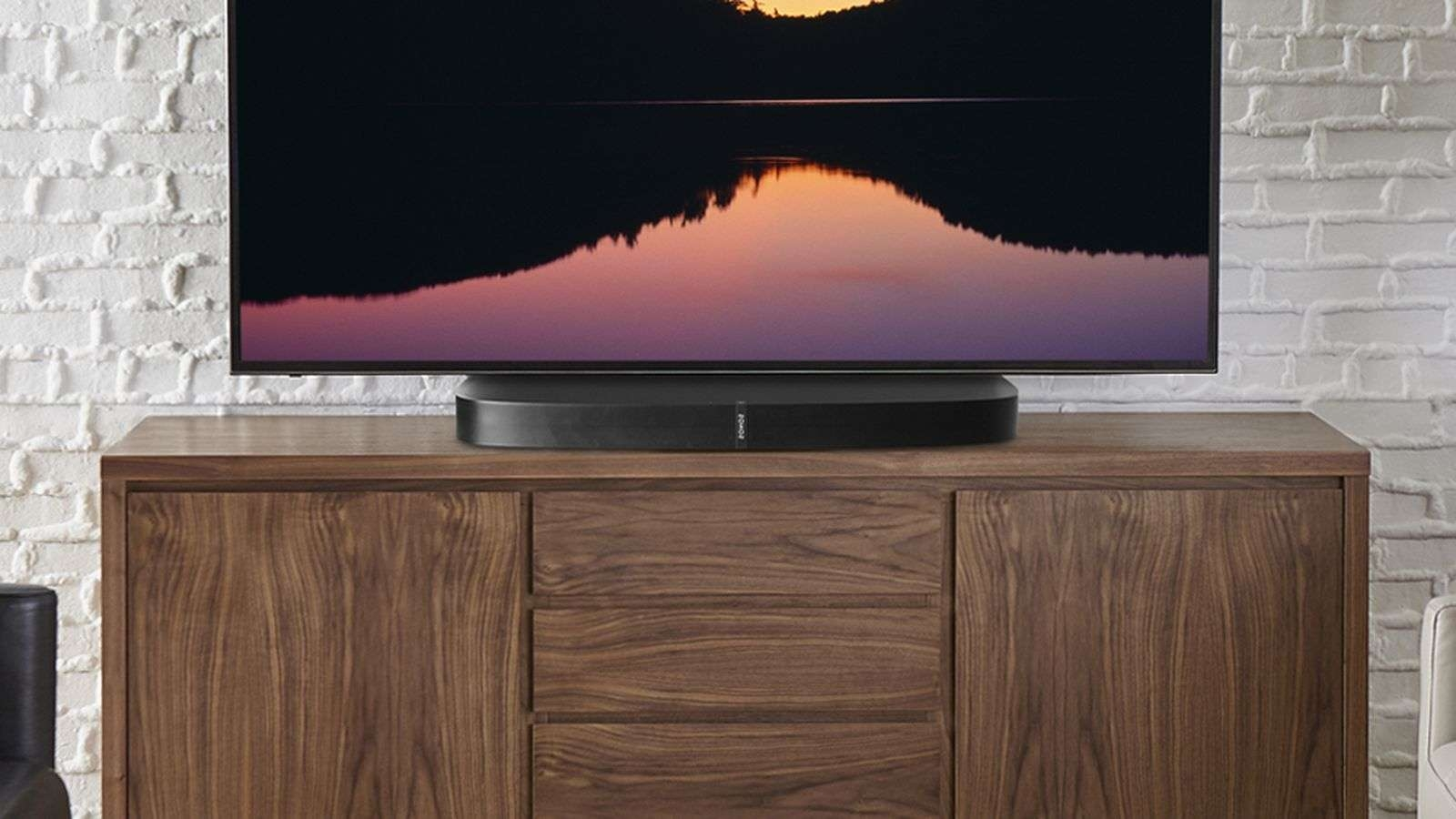 Sonos Playbase Gets $150 Stand For Tvs That Won't Fit – Cnet Regarding Sonos Tv Stands (View 12 of 15)
