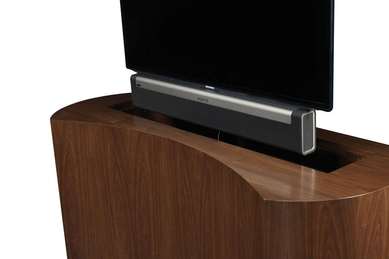 Sonos Sound Bar Playbar With Tv Lift Cabinet – Cabinet Tronix In Sonos Tv Stands (View 8 of 15)