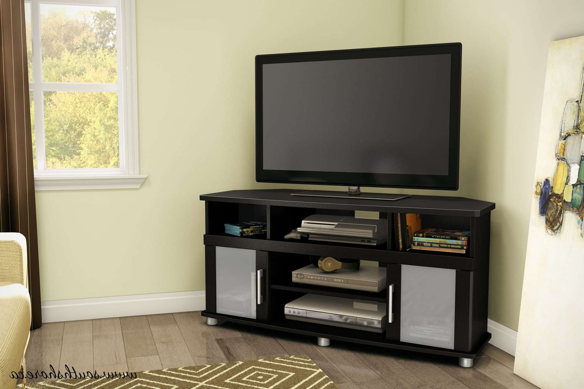 South Shore City Life Corner Tv Stand, For Tvs Up To 50 Inches Regarding Corner Tv Stands (View 14 of 15)