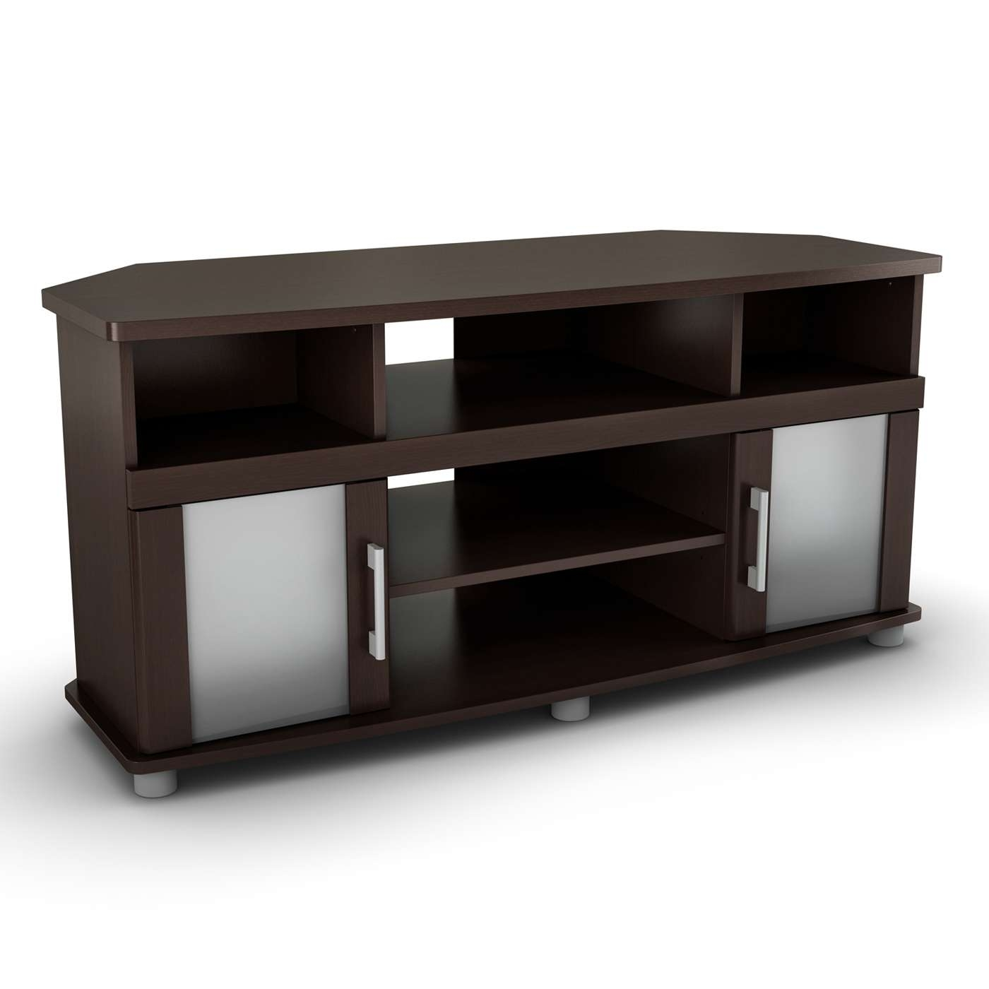 South Shore Furniture City Life Corner Tv Stand | Lowe's Canada In Small Corner Tv Stands (View 17 of 20)