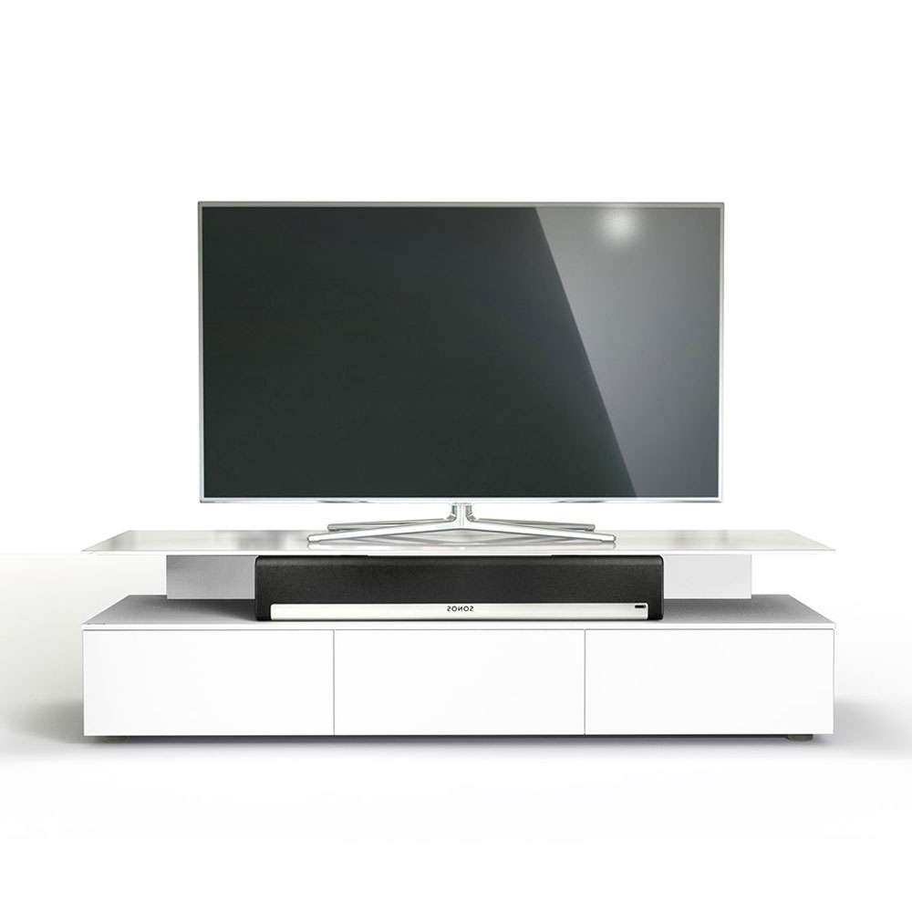 Spectral Just Racks Jrm1650 Snow White Tv Cabinet – Just Racks For Sonos Tv Stands (View 15 of 15)