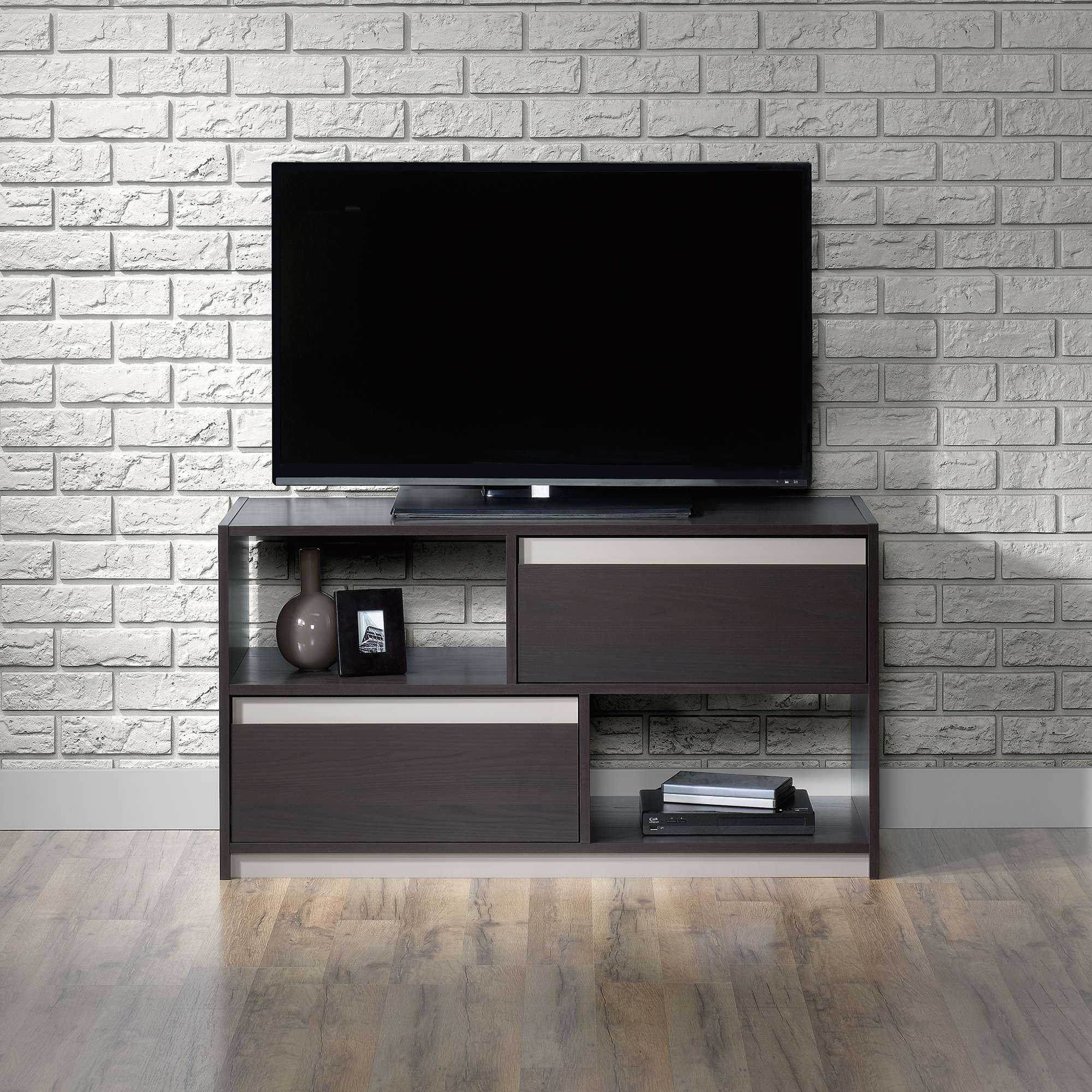 Square1 | Tv Stand | 418503 | Sauder Intended For Square Tv Stands (View 13 of 15)