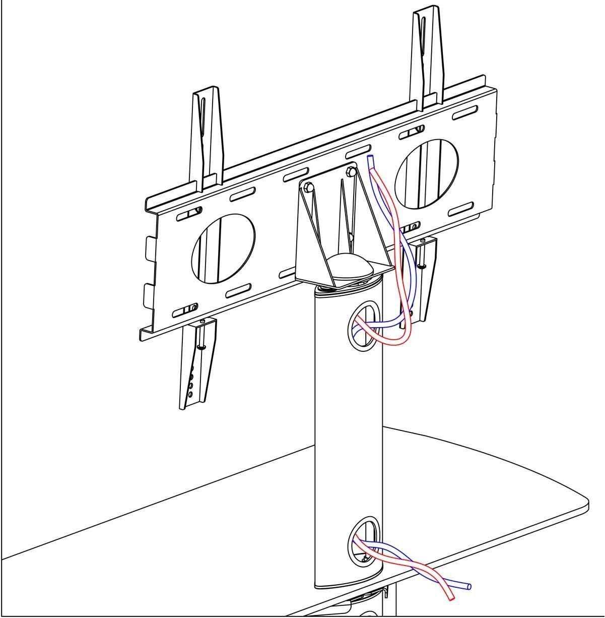 Stil Stand Stuk 2053chbl Tv Stands Intended For Stil Tv Stands (View 11 of 15)