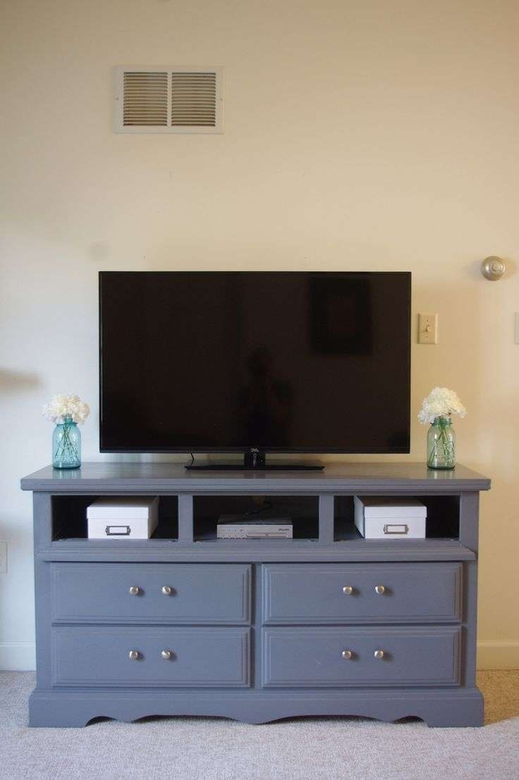 Superb Gray Wood Tv Stands Tags : Grey Wood Tv Stands Gloss White Throughout Vintage Tv Stands For Sale (View 9 of 15)