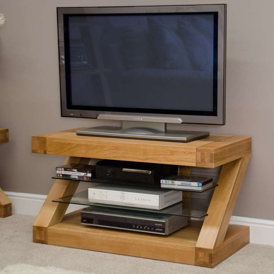 Superb Round Unusual Tv Stands With Led Tv Above Chic Dvd Player Within Round Tv Stands (View 14 of 15)