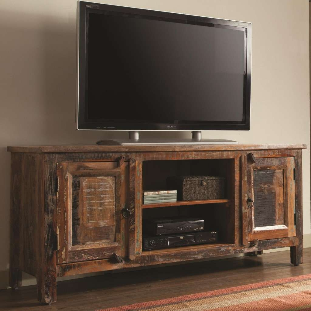 Swanky Tv Stands Ideas Rustic Tv Stands Home Design Ideas To Pertaining To Unique Tv Stands (View 9 of 20)